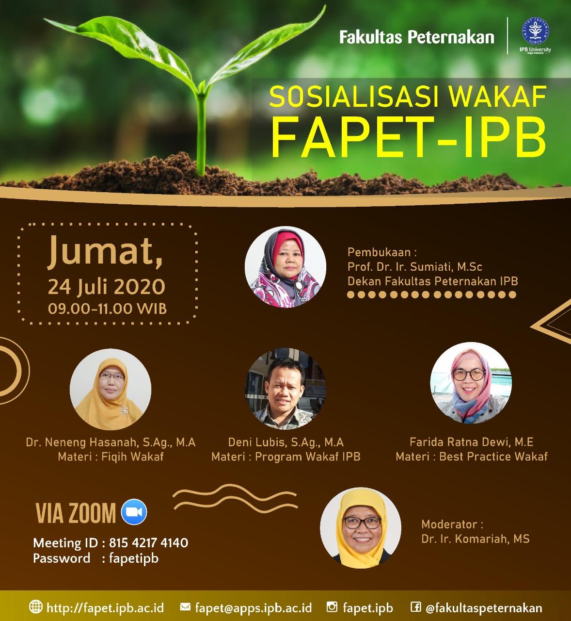 Sosialisasi_wakaf_fapet_IPB